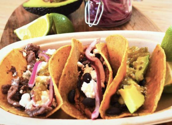 Tacos, tortas og tostados fra The Mexican Donkey