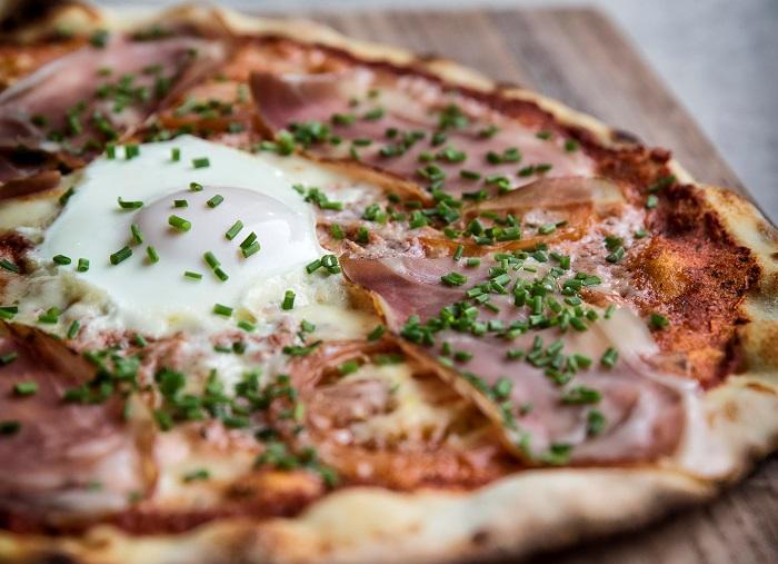 Pizza kæden Gorm's præsenterer ny Fynsk Forår pizza i Aarhus